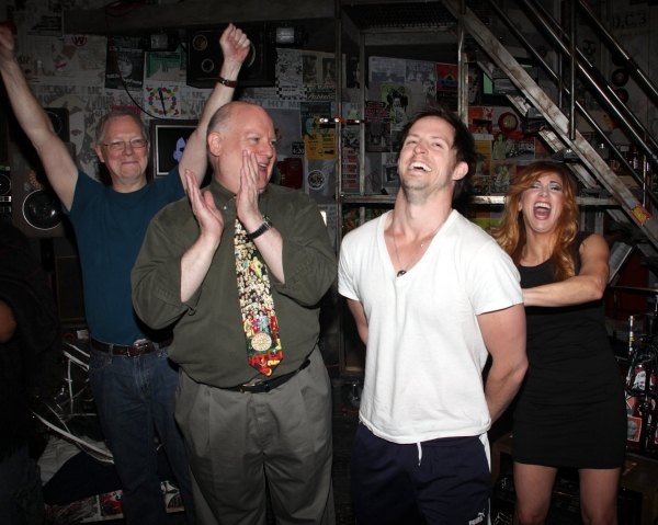 David Westphal (Actors Equity), Andrew Call and Lorin Lattaro  Photo