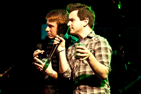 Steven Booth and Alex Brightman Photo
