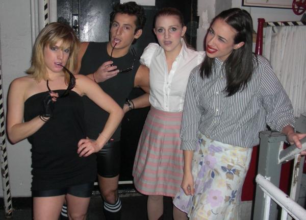 Lauren Strigari, Frankie James Grande, Annaleigh Ashford & Miranda Sings Photo