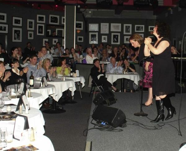 Photo Flash: Marcy Heisler and Zina Goldrich in Concert at Birdland