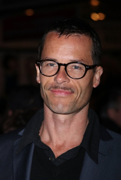 Guy Pearce at ENRON Opening Night Arrivals!