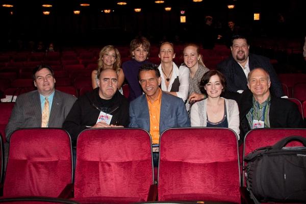 Easter Bonnet Judges: James Claffey Jr., Jennifer Cody, Alfred Molina, Beth Leavel, B Photo