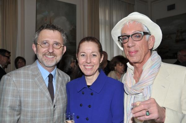 Thomas Schumacher, Stacey Weston, and Jorge Vargas