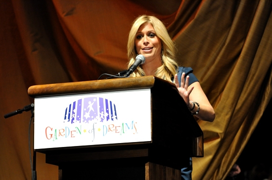 Jill Martin at Whoopi Goldberg Hosts 'Garden of Dreams' Talent Show