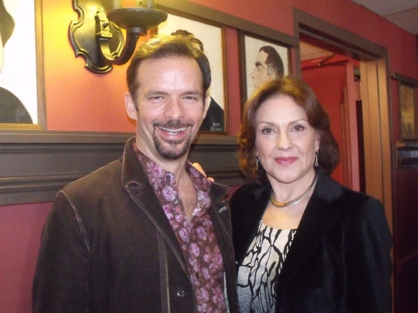 Rick Negron and Kelly Bishop
