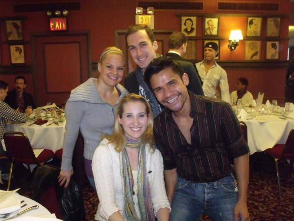 Leslie Goddard, Melissa Lone, Matthew Farver and Gerard Salvador