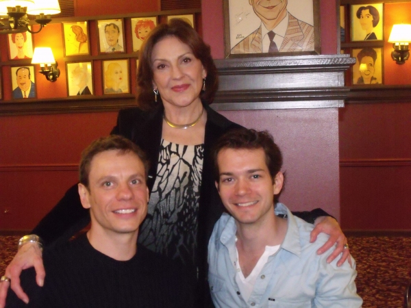 Keith Roberts, Kelly Bishop and Todd Burnsed