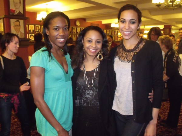 Lisa Nicole Wilkerson, Charity De Loera and Michelle Brugal