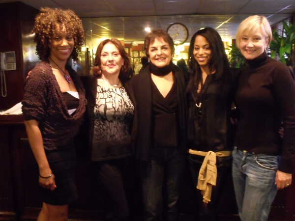 Judine Somerville, Kelly Bishop, Priscilla Lopez, Vivian Nixon and Caitlin Carter