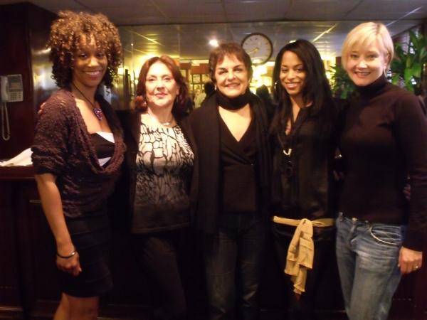 Judine Somerville, Kelly Bishop, Priscilla Lopez, Vivian Nixon and Caitlin Carter