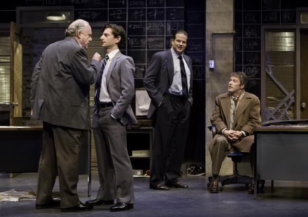 William Webster, Jordan Pettle, Albert Schultz and Kevin Bundy Photo