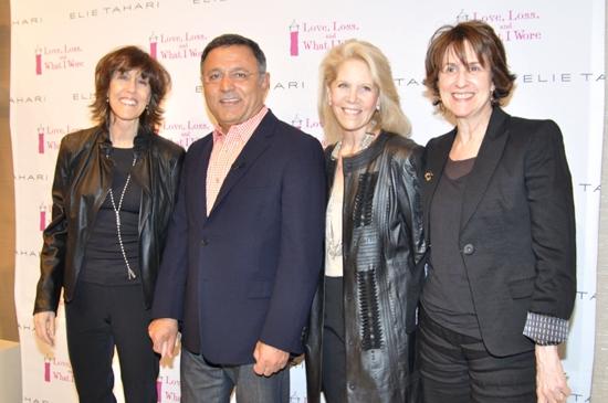Elie Tahari, Daryl Roth, Nora Ephron and Delia Ephron