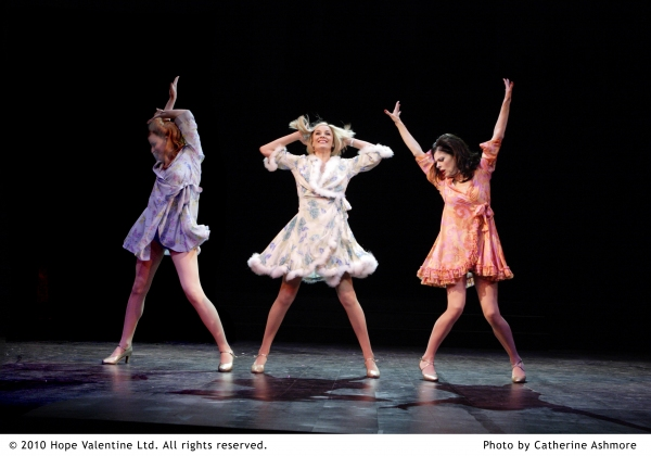 Tiffany Graves, Tamzin Outhwaite, Josefina Gabrielle at SWEET CHARITY With Outhwaite, Gabrielle And Umbers