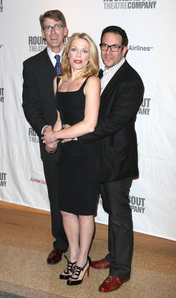 Dick Scanlon, Sherie Rene Scott and Michael Mayer