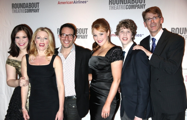 Lindsay Mendez, Sherie Rene Scott, Michael Mayer, Betsy Wolfe, Eamon Foley and Dick Scanlon
