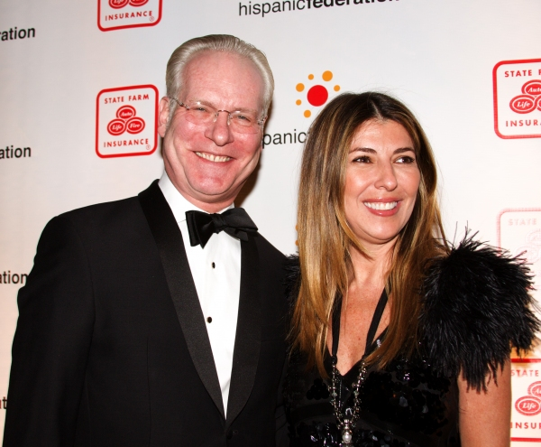 Tim Gunn and Nina Garcia