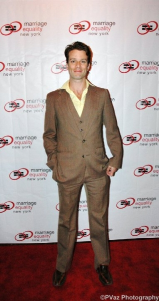 Jesse Archer at  Marriage Equality New York Gala Honoring BD Wong