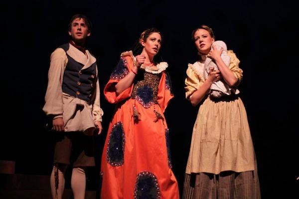 Tyler Bellmon, Brittney Morello, and Meredith Jones