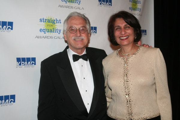 John Cepek and Straight for Equality in Business Honoree Rohini Anand (Senior VP and Global Chief