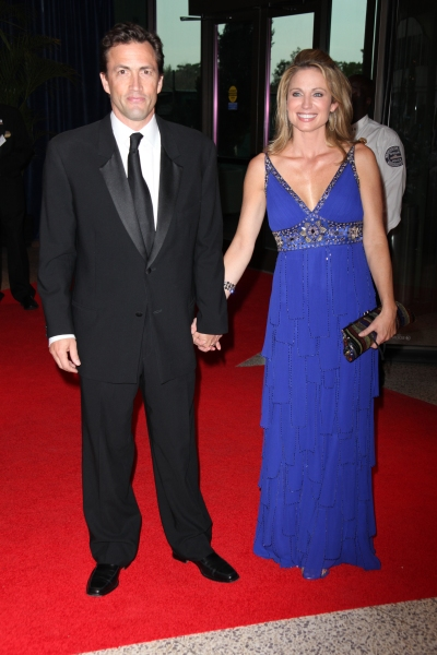 Andrew Shue & Amy Robach
