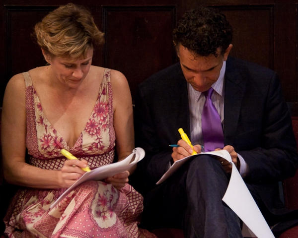 Photo Coverage: Huffman and Stokes Mitchell Announce 2010 Drama Desk Nominees
