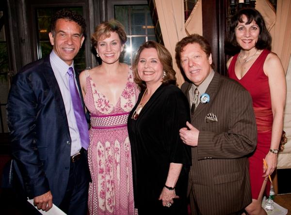 Brian Stokes Mitchell, Cady Huffman, Randie Levine-Miller, Robert Blume and Lauren Class Schneider