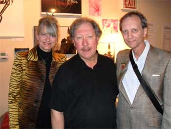 Lynn and Will Cooper with Russ Tutterow