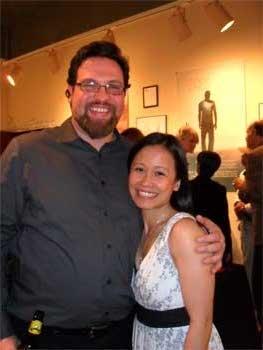 Brian Loevner with Christine Bunuan