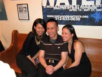 Melissa Canciller, Gordon Chow and Christine Bunuan