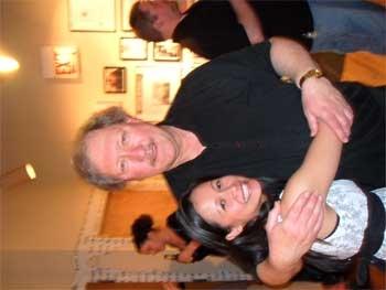 Christine Bunuan and Director Russ Tutterow