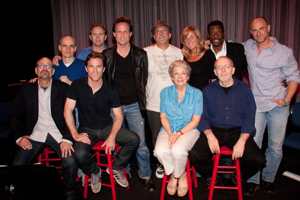 Photo Coverage: Meloni, Tergesen & Winters in Primary Stage's GODFATHER IV Reading