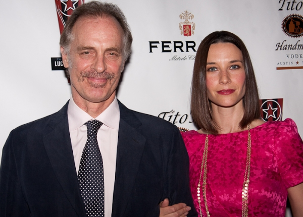 Keith Carradine and Hayley Dumond at 2010 Lucille Lortel Awards Arrivals
