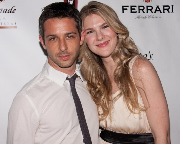 Jeremy Strong and Lily Rabe at 2010 Lucille Lortel Awards Arrivals