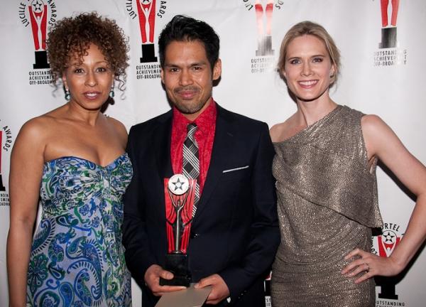 Tamara Tunie, Clint Ramos and Stephanie March