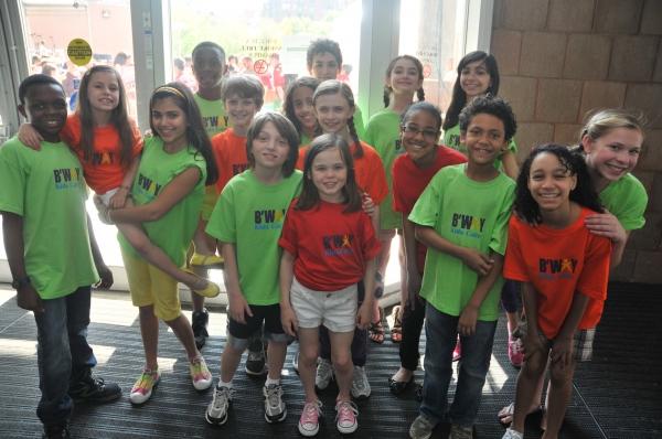 Photo Flash: Broadway Kids Care At Tribeca Film Festival