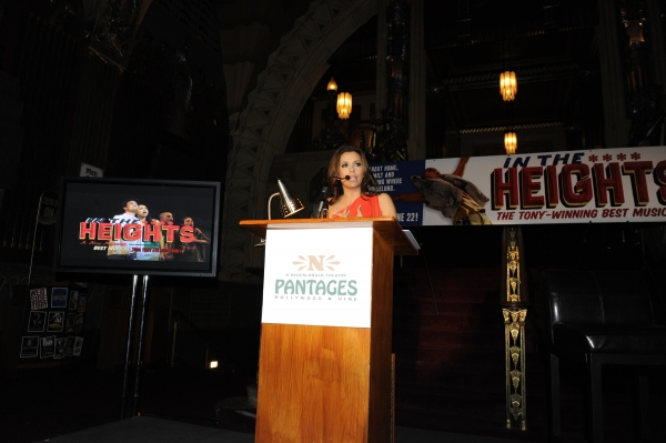 Eva Longoria Parker Speaks From The Heart About IN THE HEIGHTS