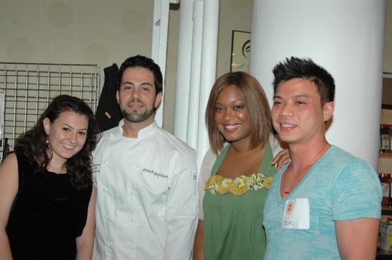 Mai Bar, Massimo DeFrancesca, Sunny Anderson, and Hung Huynh