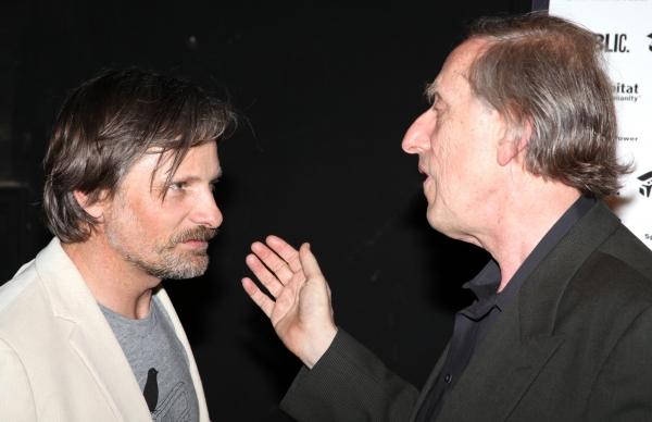 Viggo Mortensen and Ariel Dorfman