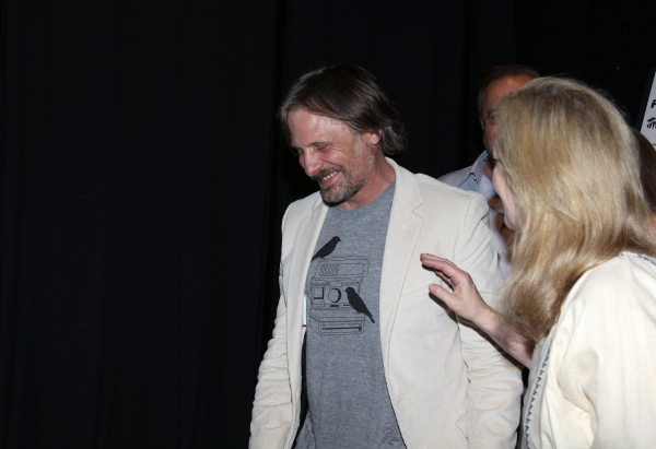 Viggo Mortensen and Meryl Streep