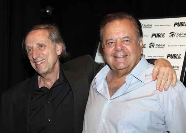 Ariel Dorfman and Paul Sorvino