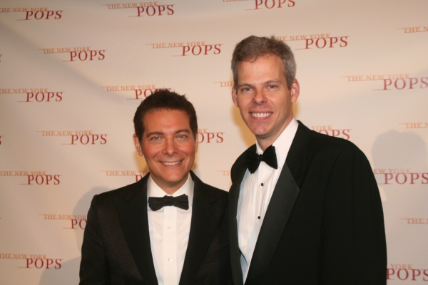 Michael Feinstein and James Johnson Photo