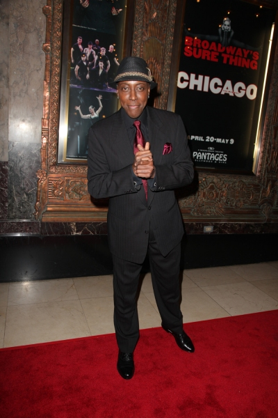 Arsenio Hall at Hollywood Elite Hit The Red Carpet For CHICAGO at Pantages Theatre