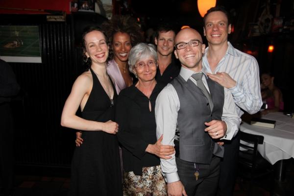 Nominees Laura Mead, Karine Plantadit, Twyla Tharp, John Selya, Charlie Neshyba-Hodges, Keith Roberts
