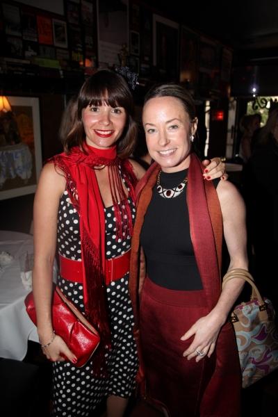 Paula Roman and Awards co-chaor Robin Cofer