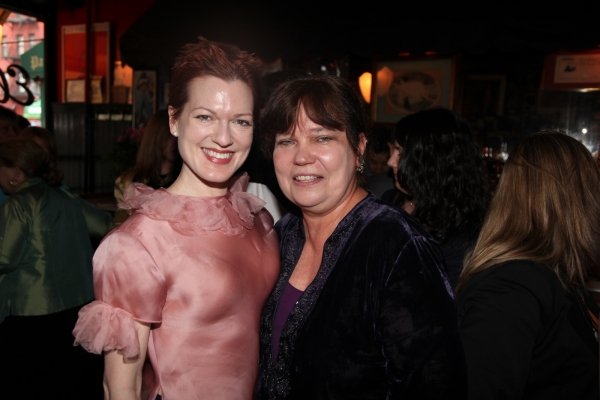 Nominee Holley Farmer and Awards producer Patricia Watt