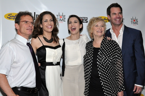 Peter Scolari, Andrea Grano, Christy Carlson Romano, Betty Buckley & Tuc Watkins