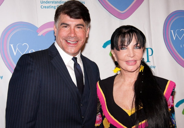 Bryan Batt and Loreen Arbus at Women Who Care 9th Annual Luncheon