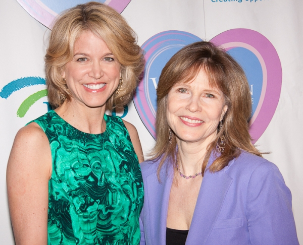 Paula Zahn and Donna Hanover at Women Who Care 9th Annual Luncheon
