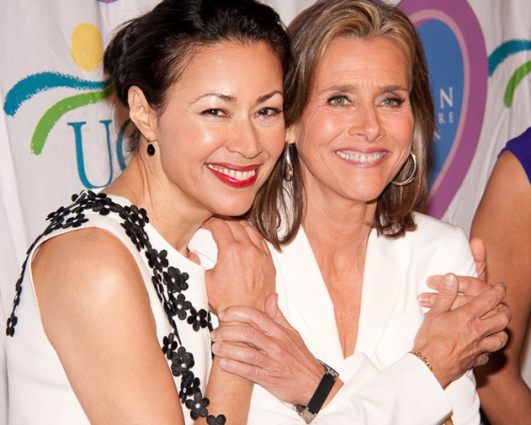 Ann Curry and Meredith Vierra