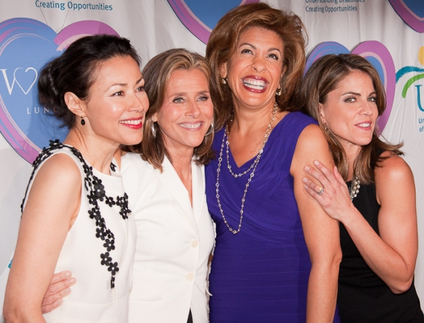 Ann Curry, Meredith Vierra, Hoda Kotb, and Natalie Morales